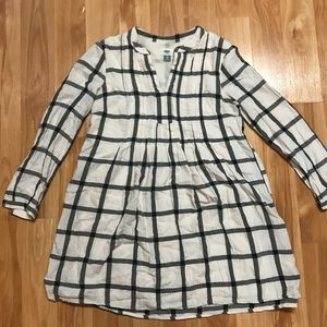 Old navy long sleeve striped tunic XS